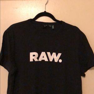Men's Large Slim Fit G-Star RAW Holorn tee shirt